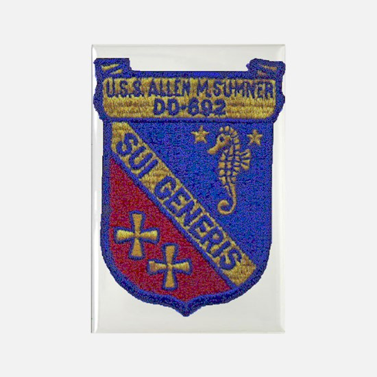 amsumner patch Rectangle Magnet