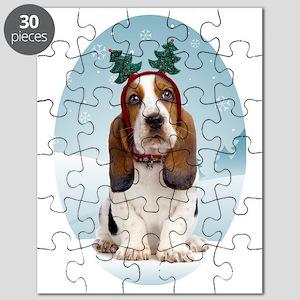 cp_bassetxmasstock Puzzle