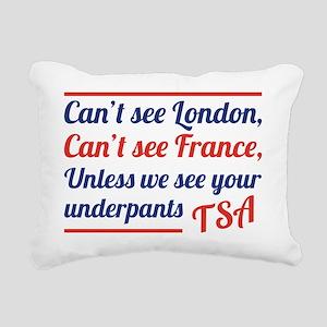 TSAUnderpants Rectangular Canvas Pillow