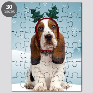 cp_bassetxmasnote Puzzle