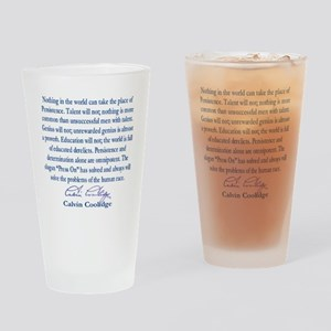 persiostence-quote=square Drinking Glass