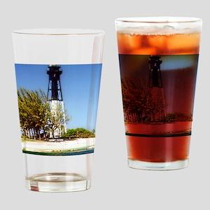 Hillsboro Inlet Lighthouse Drinking Glass