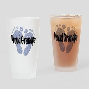 Proud Grandpa (Boy!) Drinking Glass