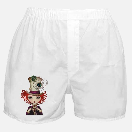 Lady Hatter Boxer Shorts