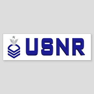 USNR Senior Chief Bumper Sticker