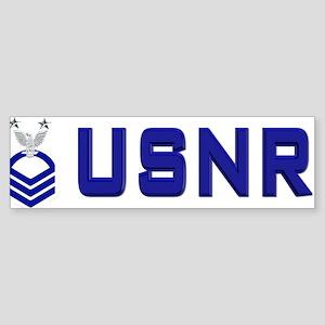 Naval Reserve Master Chief Bumper Sticker