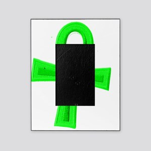 Green Ankh Picture Frame