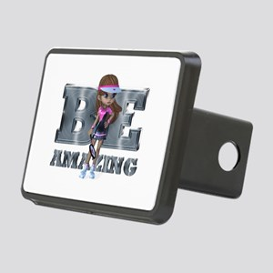Be Amazing Tennis Rectangular Hitch Cover