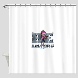 Be Amazing Tennis Shower Curtain