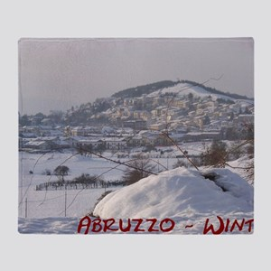 Abruzzo Winter 1 Throw Blanket
