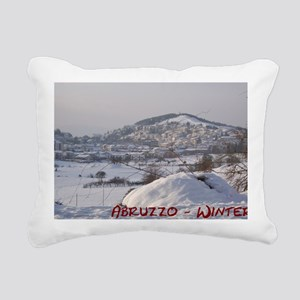 Abruzzo Winter 1 Rectangular Canvas Pillow