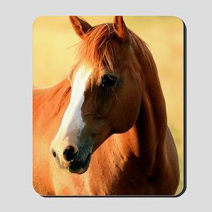 horse,1 Portrait Mousepad