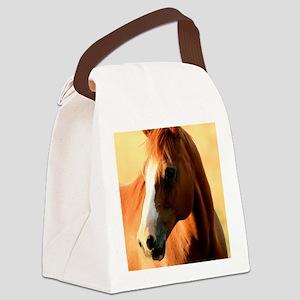 horse,1 Portrait Canvas Lunch Bag