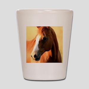 horse,1 Portrait Shot Glass