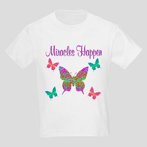 MIRACLES HAPPEN Kids Light T-Shirt
