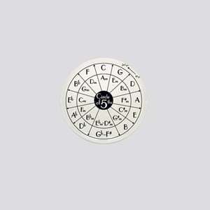 circle of fifths Mini Button