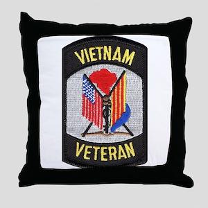Vietnam Veteran Throw Pillow