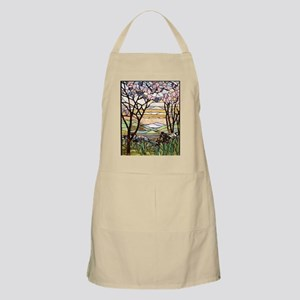 stained glass tree78 Apron