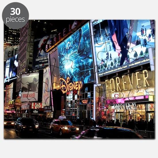 Times Square Puzzle