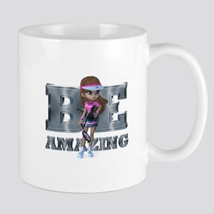 Be Amazing Tennis Mug