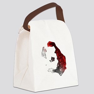2-santorini_tee Canvas Lunch Bag