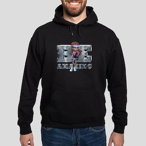 Be Amazing Tennis Hoodie (dark)