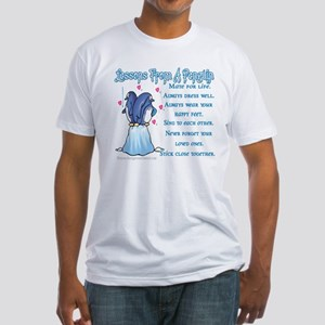 Penguin Lessons Fitted T-Shirt