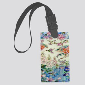 stainedglass73 Large Luggage Tag