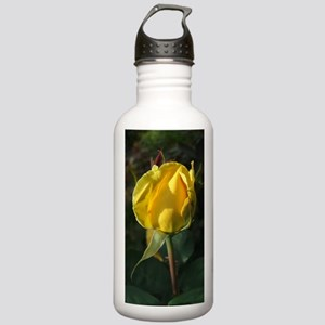 YellowRoseBudJournal Stainless Water Bottle 1.0L