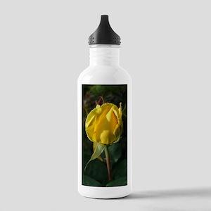 YellowRoseBudJournal Stainless Water Bottle 1.0L