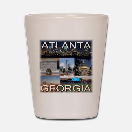 ATLANTAGEORGIA_TAL_COLLAGE Shot Glass