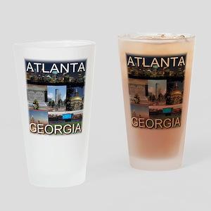 ATLANTAGEORGIA_TAL_COLLAGE Drinking Glass