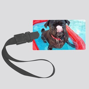 AnakPugBoat Large Luggage Tag