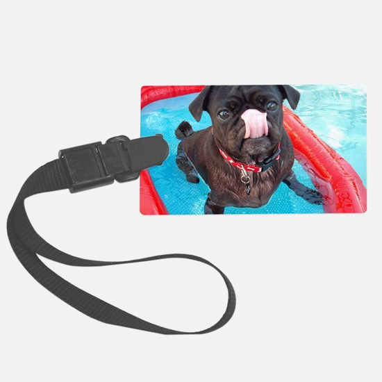 AnakPugBoat Luggage Tag