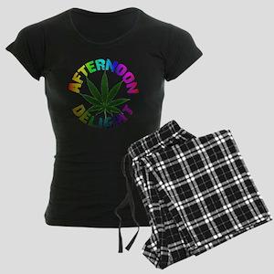 afternoon_delight_rainbow Women's Dark Pajamas