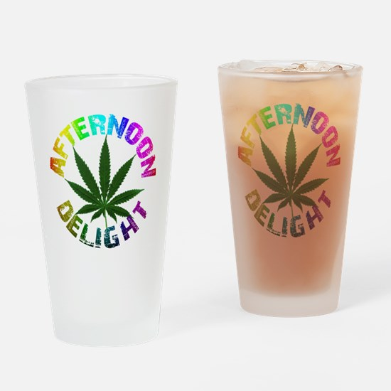 afternoon_delight_rainbow Drinking Glass