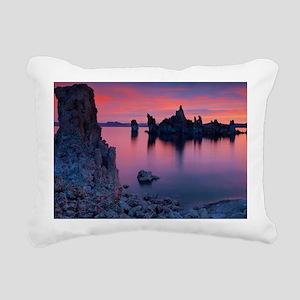 Pink Sunrise Rectangular Canvas Pillow