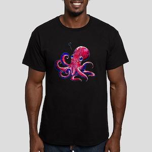 SquidLove_0625_50x50 Men's Fitted T-Shirt (dark)