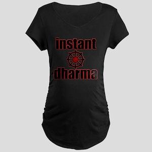 instant dharma initiative w Maternity Dark T-Shirt