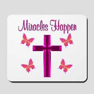 BELIEVE MIRACLES Mousepad