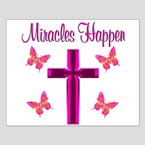 BELIEVE MIRACLES Small Poster