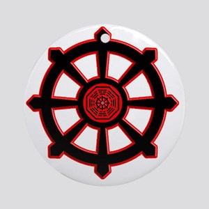-Dharma initiative wheel of life so Round Ornament