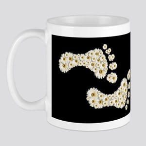 Daisy Footprints 1 Mug