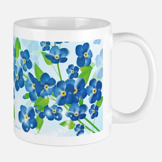 Forget Me Not Flowers Mug