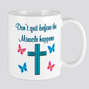 EXPECT MIRACLES Mug