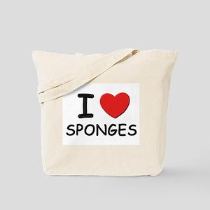I love sponges Tote Bag