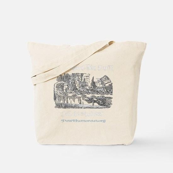 teaparty-dark Tote Bag
