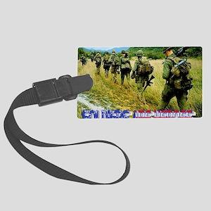 vietnam-soldiers-4 Large Luggage Tag