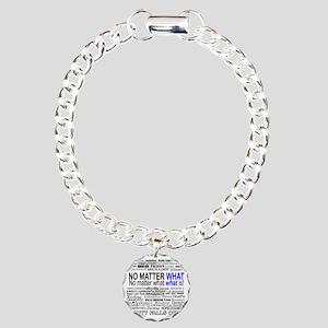 NoMatterWhatToo Charm Bracelet, One Charm