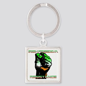 resistance Square Keychain